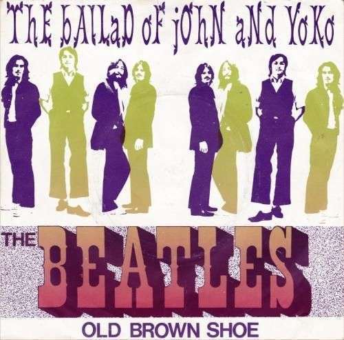 Coverafbeelding The Ballad Of John And Yoko - The Beatles