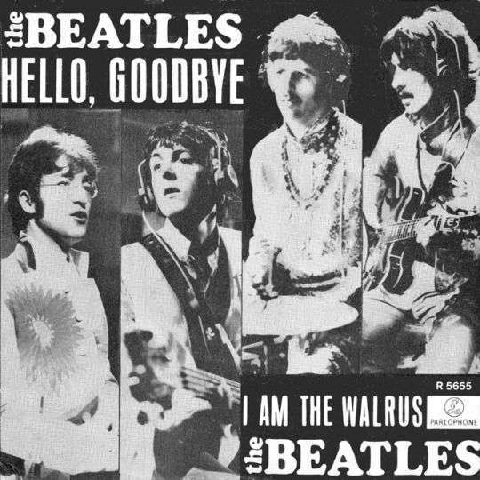 Coverafbeelding Hello, Goodbye - The Beatles