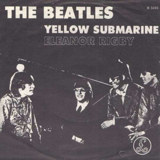 Coverafbeelding Eleanor Rigby/ Yellow Submarine - The Beatles