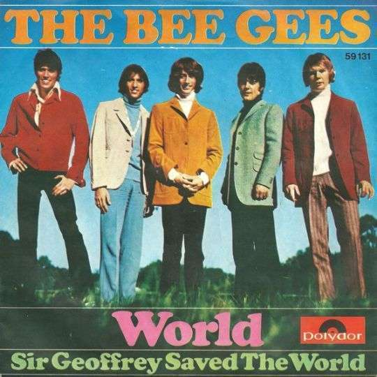 Coverafbeelding World - The Bee Gees