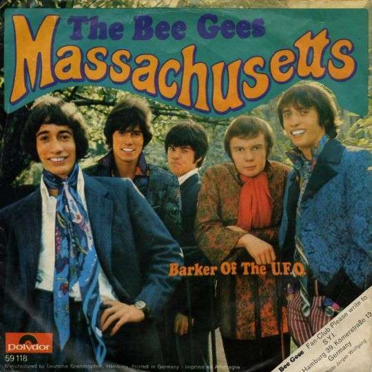 Coverafbeelding Massachusetts - The Bee Gees