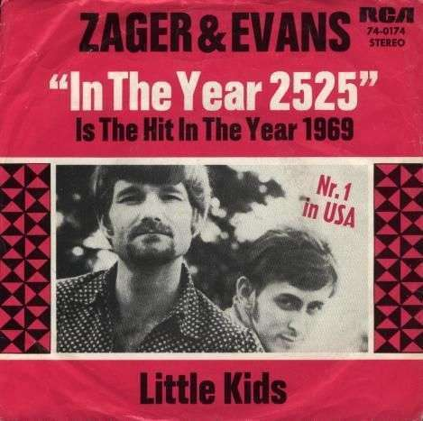 Coverafbeelding Zager & Evans - In The Year 2525