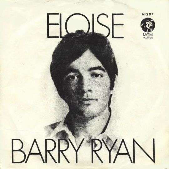 Coverafbeelding Barry Ryan - Eloise