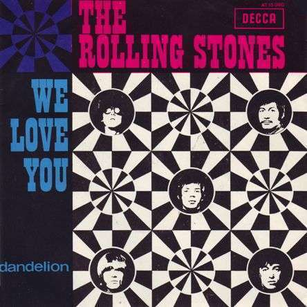 Coverafbeelding We Love You/ Dandelion - The Rolling Stones