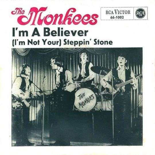 Coverafbeelding I'm A Believer - The Monkees