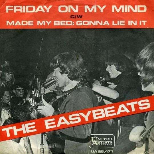 Coverafbeelding The Easybeats / The Dukes - Friday On My Mind