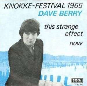 Coverafbeelding Dave Berry - This Strange Effect