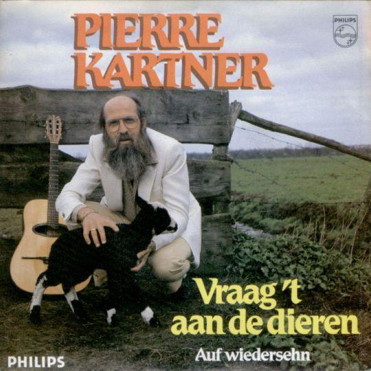 Coverafbeelding Vraag 't Aan De Dieren - Pierre Kartner