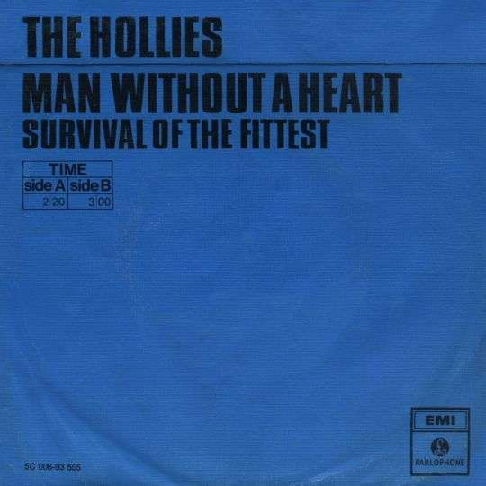 Coverafbeelding Man Without A Heart - The Hollies