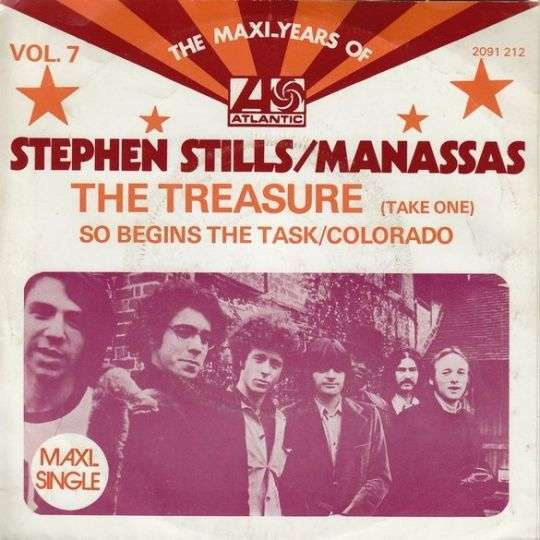Coverafbeelding The Maxi-Years Of Atlantic Vol. 7 [Maxi-Single] : So Begins The Task - Stephen Stills/manassas