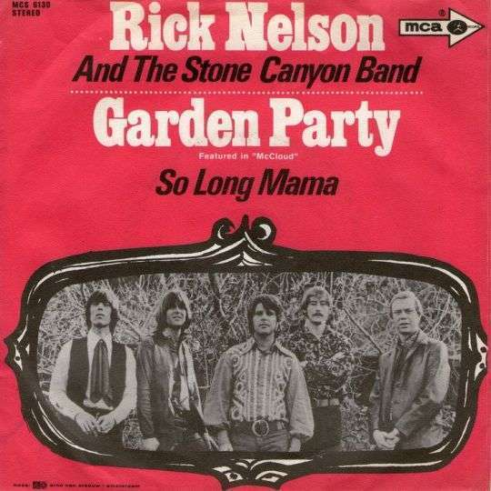 Coverafbeelding Rick Nelson and The Stone Canyon Band - Garden Party