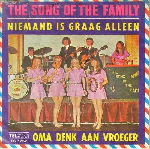 Coverafbeelding Niemand Is Graag Alleen - The Song Of The Family
