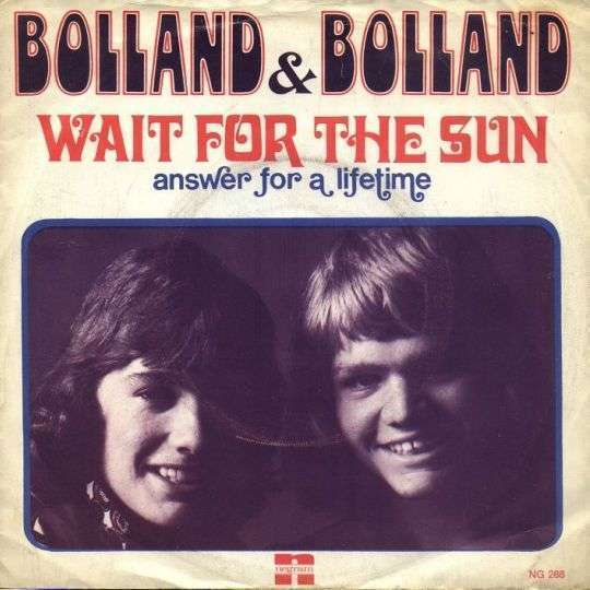 Coverafbeelding Wait For The Sun - Bolland & Bolland