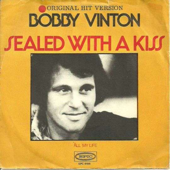 Coverafbeelding Sealed With A Kiss - Bobby Vinton