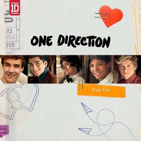 Coverafbeelding Kiss You - One Direction