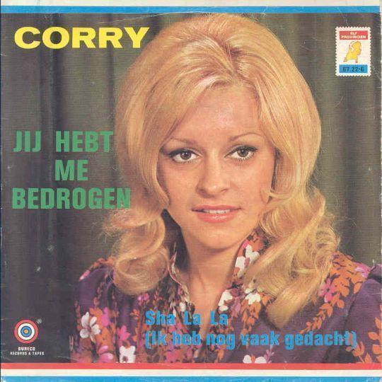 Coverafbeelding Jij Hebt Me Bedrogen - Corry