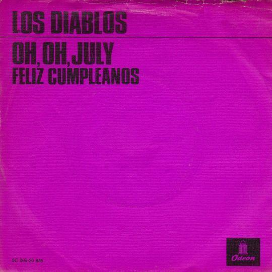 Coverafbeelding Oh, Oh, July - Los Diablos
