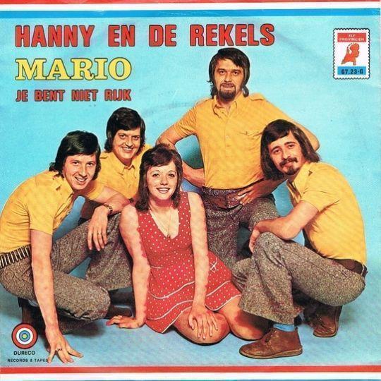 Coverafbeelding Mario - Hanny En De Rekels