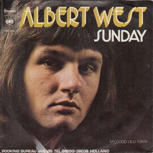 Coverafbeelding Albert West - Sunday