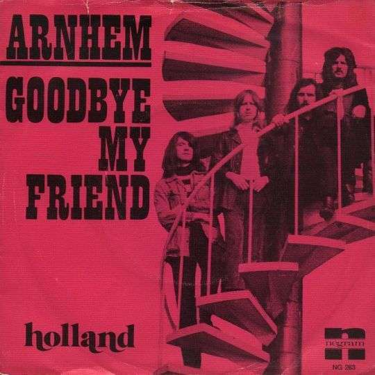 Coverafbeelding Arnhem - Goodbye My Friend