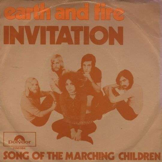 Coverafbeelding Earth and Fire - Invitation