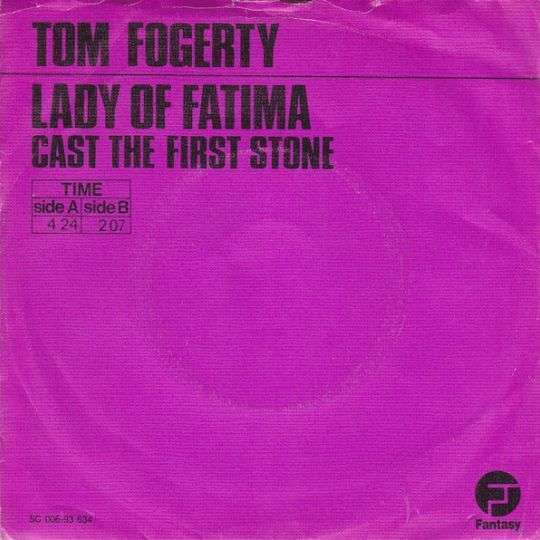 Coverafbeelding Lady Of Fatima - Tom Fogerty