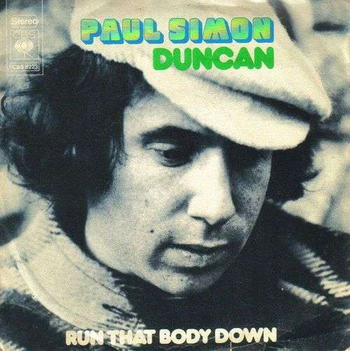 Coverafbeelding Duncan - Paul Simon