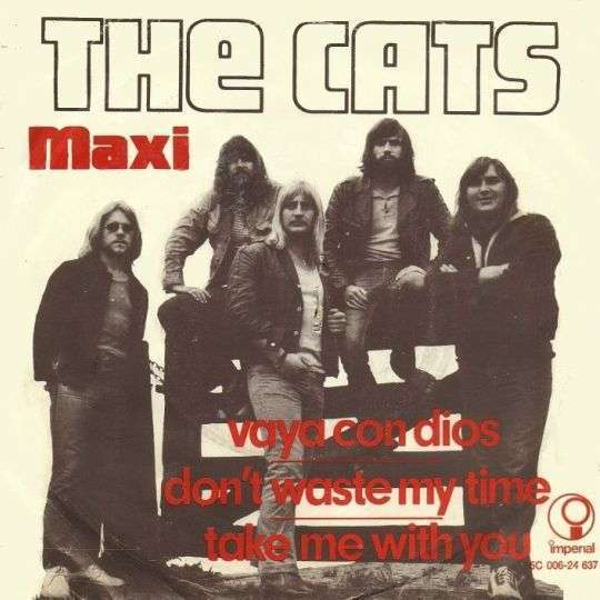Coverafbeelding Vaya Con Dios [Maxi] - The Cats