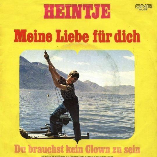 Coverafbeelding Meine Liebe Für Dich - Heintje