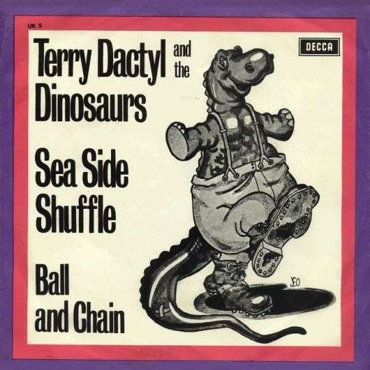 Coverafbeelding Sea Side Shuffle - Terry Dactyl And The Dinosaurs