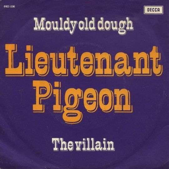 Coverafbeelding Lieutenant Pigeon - Mouldy Old Dough