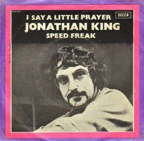 Coverafbeelding I Say A Little Prayer - Jonathan King