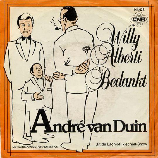 Coverafbeelding Willy Alberti Bedankt - André Van Duin