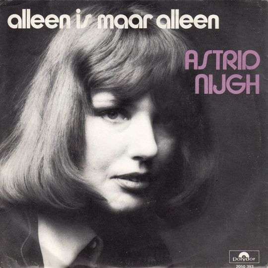 Coverafbeelding Alleen Is Maar Alleen - Astrid Nijgh