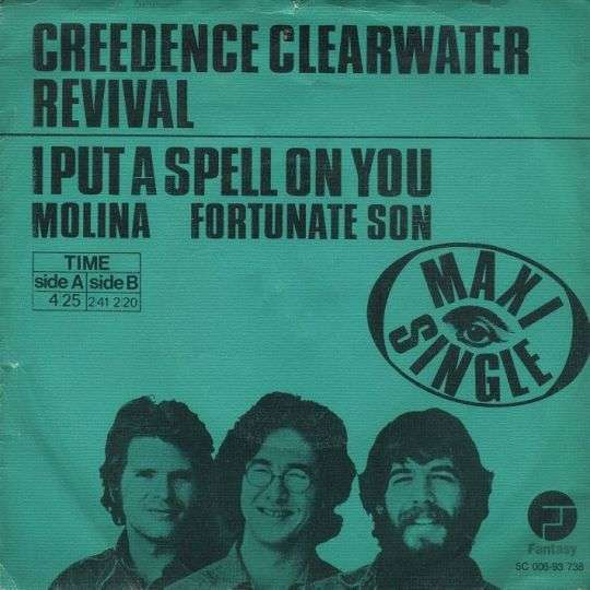 Coverafbeelding I Put A Spell On You [Maxi Single] - Creedence Clearwater Revival