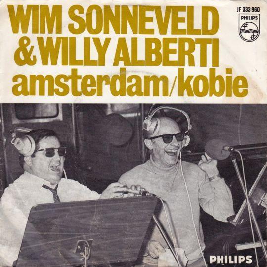 Coverafbeelding Amsterdam - Wim Sonneveld & Willy Alberti