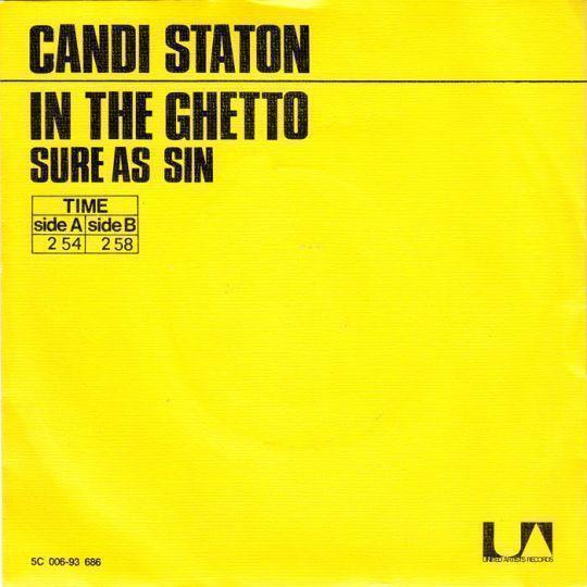 Coverafbeelding In The Ghetto - Candi Staton