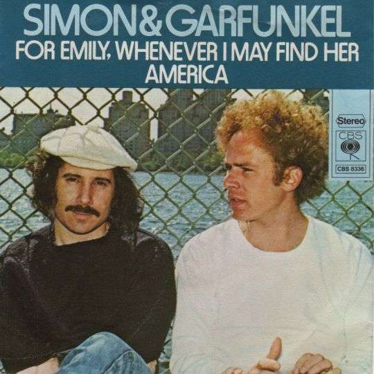 Coverafbeelding For Emily, Whenever I May Find Her - Simon & Garfunkel