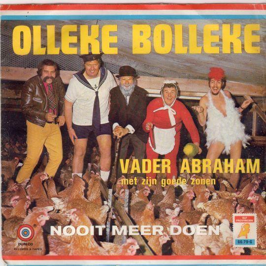 Coverafbeelding Olleke Bolleke - Vader Abraham Met Zijn Goede Zonen