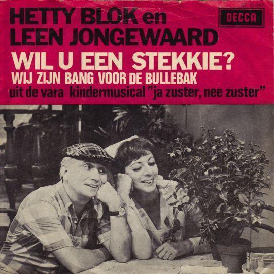 Coverafbeelding Wil U Een Stekkie? - Hetty Blok En Leen Jongewaard