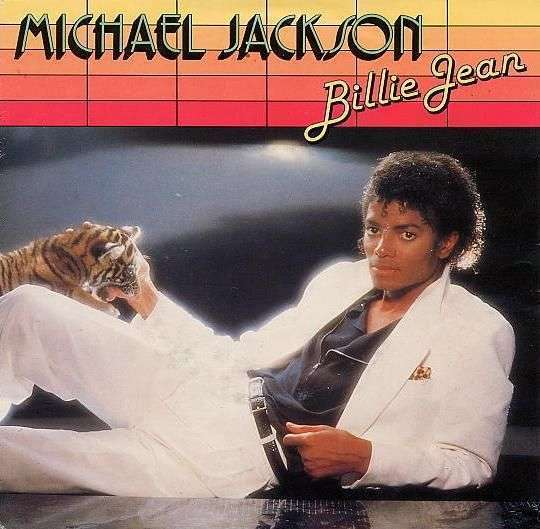 Coverafbeelding Billie Jean - Michael Jackson