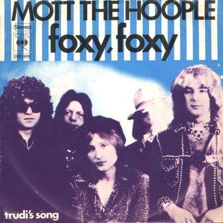 Coverafbeelding Mott The Hoople - Foxy, Foxy