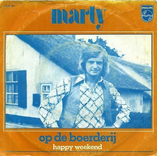 Coverafbeelding Op De Boerderij - Marty