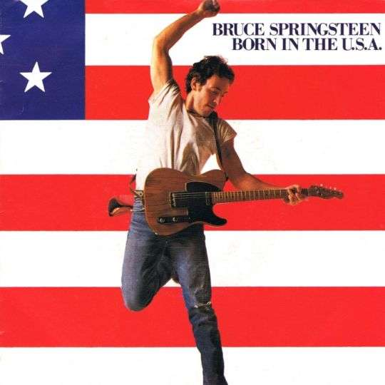 Coverafbeelding Born In The U.s.a. - Bruce Springsteen