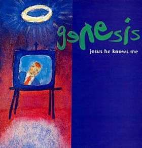 Coverafbeelding Jesus He Knows Me - Genesis