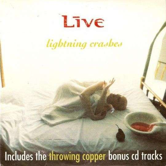 Coverafbeelding Live - Lightning Crashes