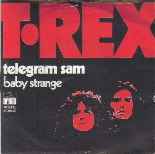Coverafbeelding Telegram Sam - T.rex