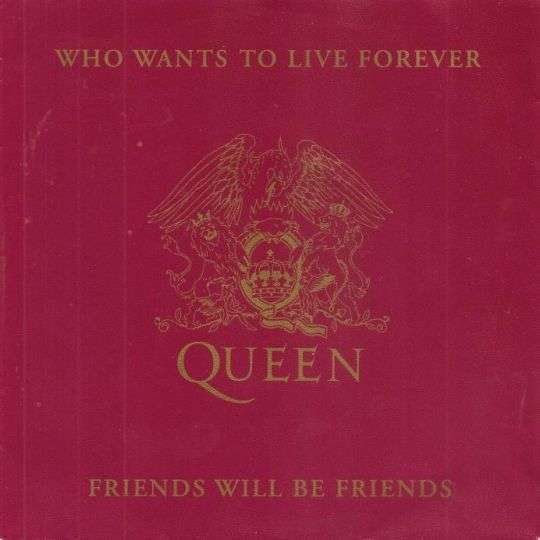 Coverafbeelding Who Wants To Live Forever - Queen