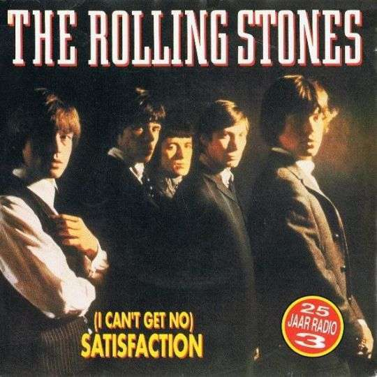 Coverafbeelding (I Can't Get No) Satisfaction - The Rolling Stones