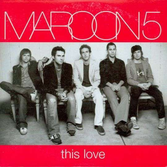 Coverafbeelding Maroon 5 - This Love
